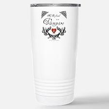 Boyfriend Vampire Heart Travel Mug