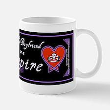 Boyfriend Vampire Heart Mug