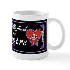 Boyfriend Vampire Heart Small Mugs