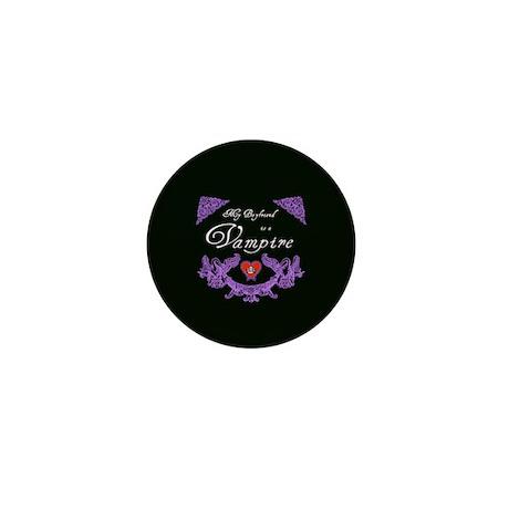 Boyfriend Vampire Heart Mini Button (10 pack)