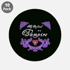 """Boyfriend Vampire Heart 3.5"""" Button (10 pack)"""