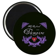 Boyfriend Vampire Heart Magnet
