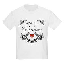 Boyfriend Vampire Heart T-Shirt