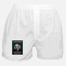 Dr. Samuel Johnson Boxer Shorts