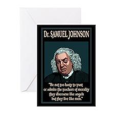 Dr. Samuel Johnson Greeting Cards (Pk of 10)