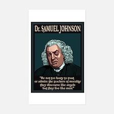 Dr. Samuel Johnson Sticker (Rectangle)