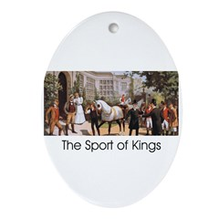TOP Sport of Kings Ornament (Oval)