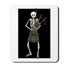 Bagpiper Skeleton Mousepad