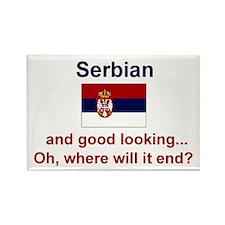 Good Looking Serbian Mylar Magnet