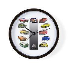 Stang 45 Wall Clock