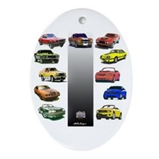 Stang 45 Ornament (Oval)