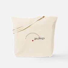 EMF Detector -> Haunted Tote Bag