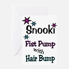 SNOOKI Greeting Card
