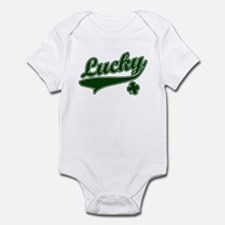 St. Patricks Day Lucky Infant Bodysuit