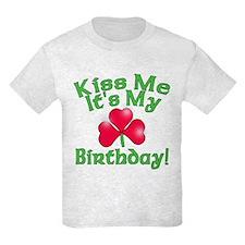 Kiss Me It's My Birthday St. Pat's T-Shirt