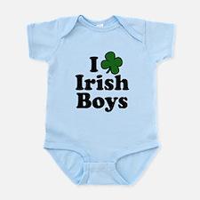 I Shamrock Love Irish Boys Infant Bodysuit