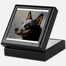 Unique Australian cattle dog Keepsake Box