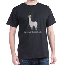 """Llamas """"Crescent rolls..."""" T-Shirt"""