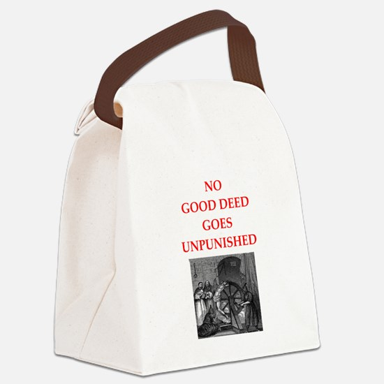 good deed Canvas Lunch Bag