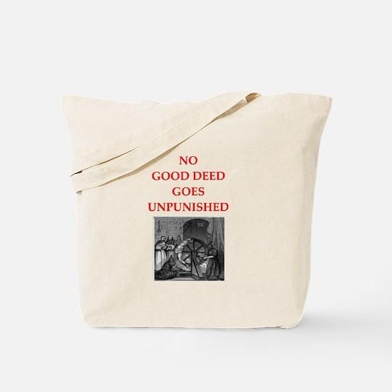 good deed Tote Bag