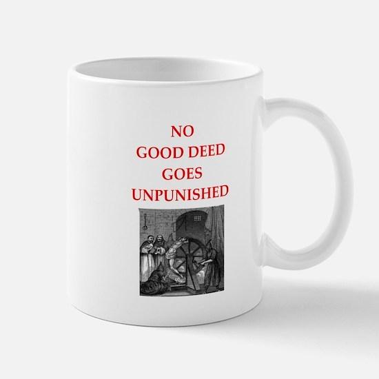 good deed Mugs
