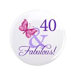 40th Birthday Butterfly 3.5