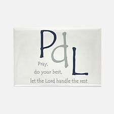 PdL Rectangle Magnet (10 pack)