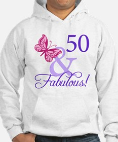 50th Birthday Butterfly Hoodie