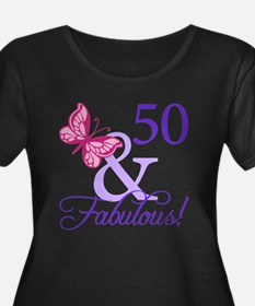 50th Birthday Butterfly T