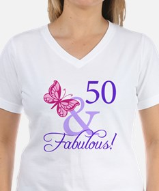 50th Birthday Butterfly Shirt