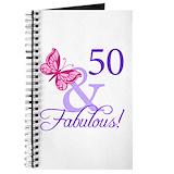 50th birthday Journals & Spiral Notebooks