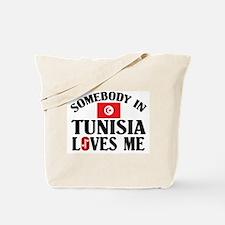 Somebody In Tunisia Tote Bag