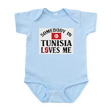 Somebody In Tunisia Infant Creeper