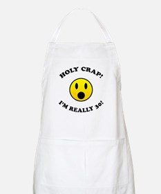 Holy Crap 30th Birthday Gag Gifts Apron