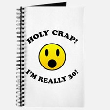 Holy Crap 30th Birthday Gag Gifts Journal