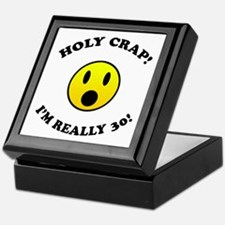 Holy Crap 30th Birthday Gag Gifts Keepsake Box