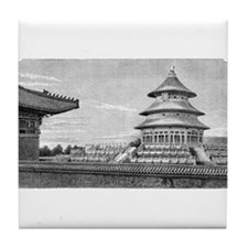 Temple of Heaven Tile Coaster