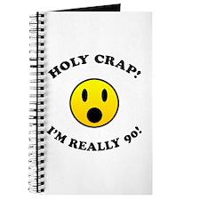 Holy Crap 90th Birthday Journal