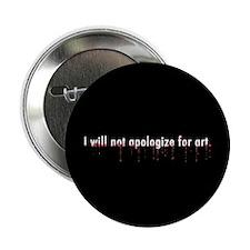 """Llamas """"Apologize"""" 2.25"""" Button"""