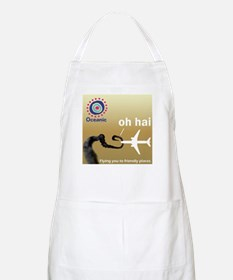 Oceanic Airlines & Smoke Monster Apron