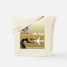 Oceanic Airlines & Smoke Monster Tote Bag