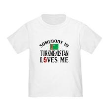 Somebody In Turkmenistan T