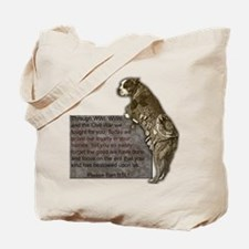 Sgt. Stubby Tote Bag