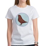 French Mondain Pigeon Women's T-Shirt