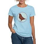 French Mondain Pigeon Women's Light T-Shirt