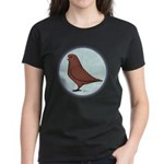 French Mondain Pigeon Women's Dark T-Shirt
