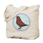 French Mondain Pigeon Tote Bag