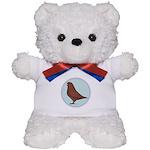 French Mondain Pigeon Teddy Bear
