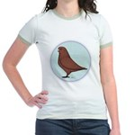 French Mondain Pigeon Jr. Ringer T-Shirt