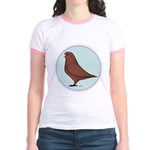 French Mondain Pigeon Jr. Ringer T-Shirt